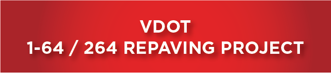 V DOT I 64 / 264 Repaving