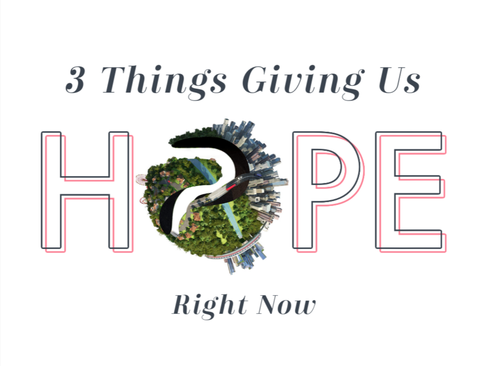 What's Inspiring Hope in 2021